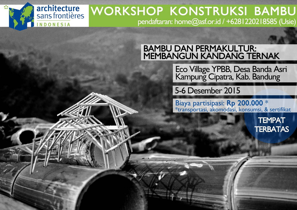 ASF Indonesia - Bambu dan Permakultur