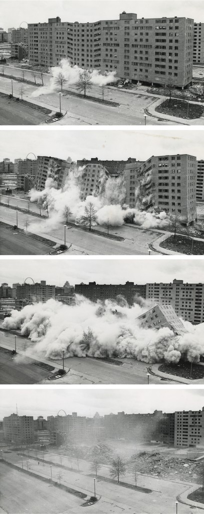 Pruitt Igoe Collapse Series